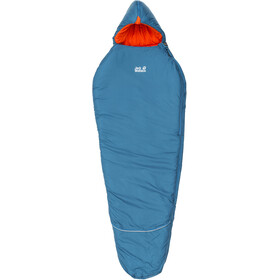 Jack Wolfskin Grow Up Comfort - Sac de couchage Enfant - bleu